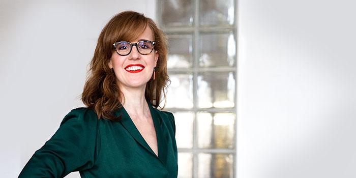 Headshot Liesbeth Smit Wetenschapscommunicatie The Online Scientist