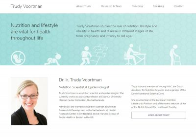 Personal website scientist researcher - The Online Scientist