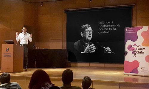 Keynote presentation impact science communication
